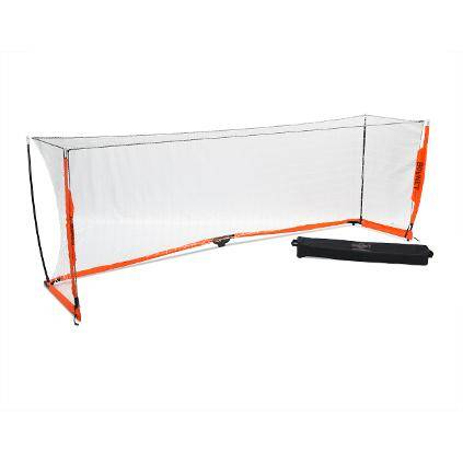 4x12 Soccer Bownet on White Background