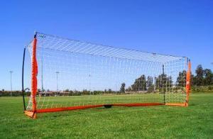 4x12 Soccer Bownet on Grass