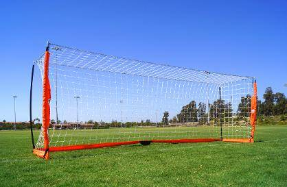 4x12 Soccer Bownet on Grass