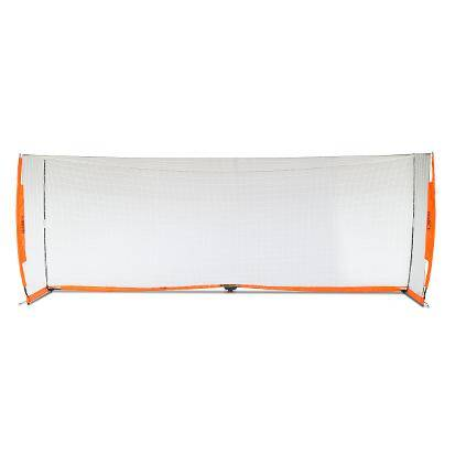 6x18 Soccer Bownet on White Background