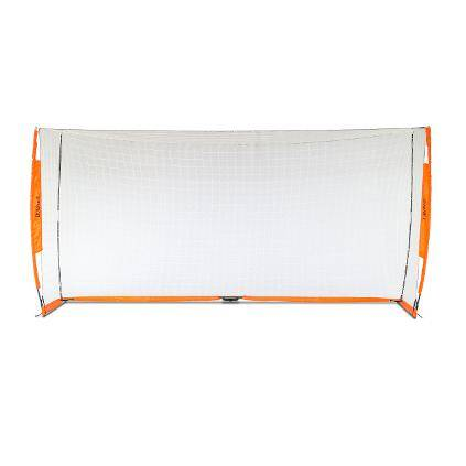 7x14 Soccer Bownet on White Background