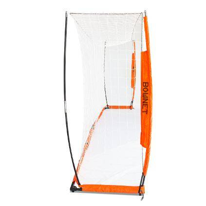 7x14 Soccer Bownet Side View