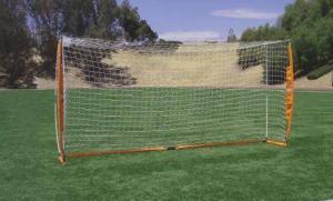 7x14 Soccer Bownet on Grass