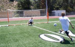 6x18 Soccer Bownet Shot on Goal