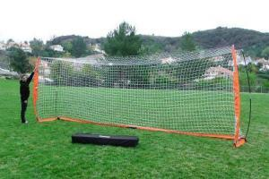 8x24 Soccer Bownet with Player & Carry Bag