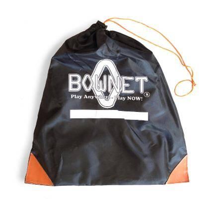 Soccer Tennis Net Drawstring Bag