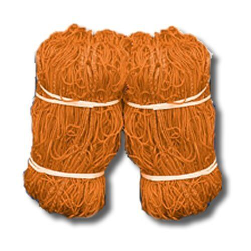 4mm Orange Soccer Nets