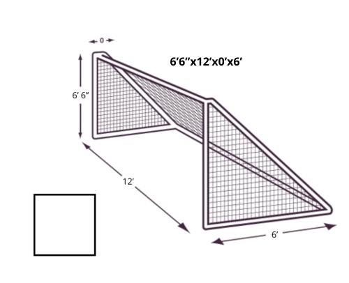 6x12x0x7 Soccer Net