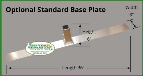 Optional Standard Base Plate