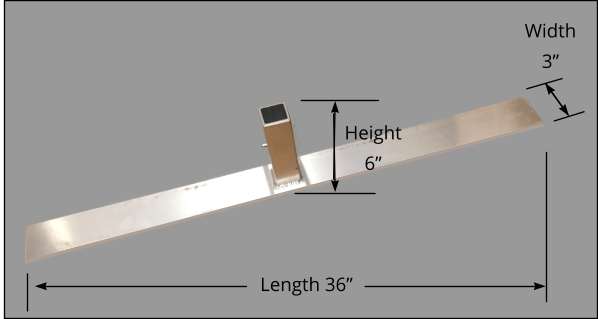 Standard Ground Base Dimensions
