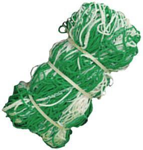Green & White Two Tone Soccer Net