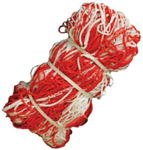 Red & White Two Tone Soccer Nets