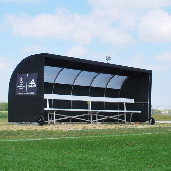 Adidas Black MVPIII Team Shelter