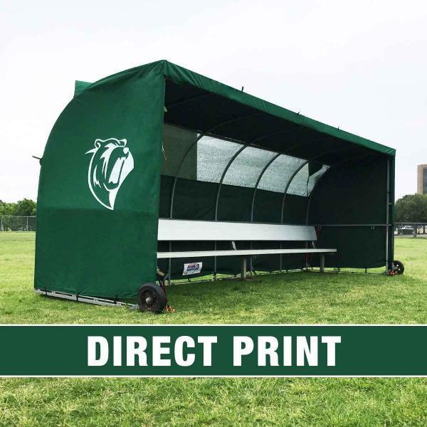 Direct Print on Green MVPIII Team Shelter
