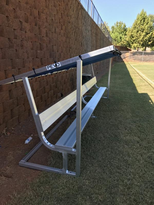 Roswell Soccer Covered Bench