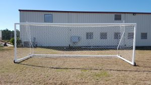 Movable Stadium Soccer Goal - Front View