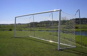 World Cup Soccer Goal with Hinged Frame