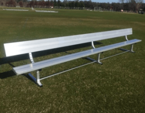 15ft Team Bench with Backrest