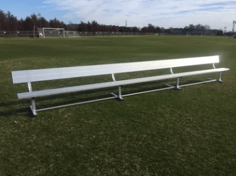 21ft Team Bench with Backrest