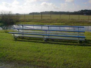 3-Row Bleacher on Grass