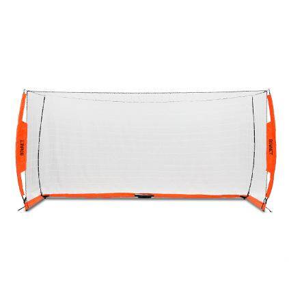 5x10 Soccer Bownet on White Background