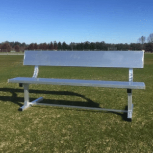 6ft Team Bench with Backrest