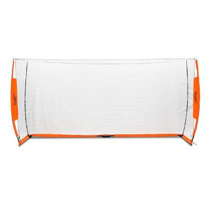 6x12 Soccer Bownet on White Background