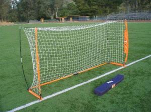 6x12 Soccer Bownet with Roller Carry Bag