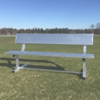 8ft Team Bench with Backrest