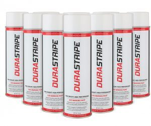 Durastripe White Paint 18oz Cans