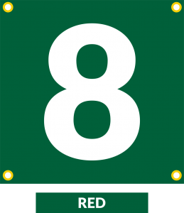 Forest Green ID Field Marker