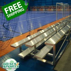 Pevo 3-Row Bleachers - Free Shipping