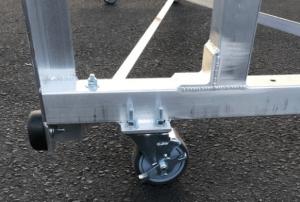 Tip-N-Roll Bleacher Wheels