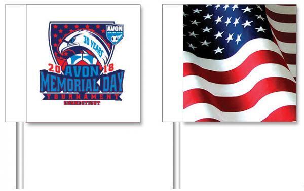 Avon Soccer Club Customized Corner Flags