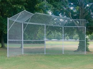 Permanent Baseball/Softball Backstops