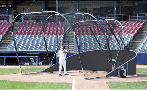 Black Big Bomber Elite Batting Cage
