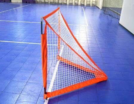 Bownet 4' Box Lacrosse Net - Side View