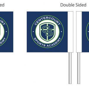 Centercourt Sports Academy Customized Corner Flags