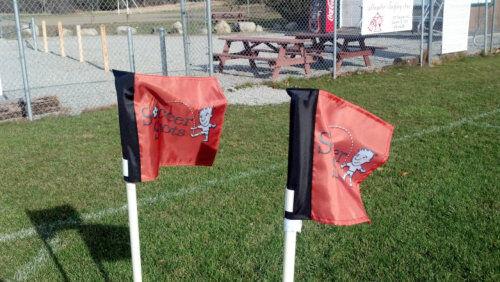Soccer Shots Customized Corner Flags