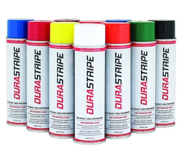 Durastripe Field Marking Paint Colors