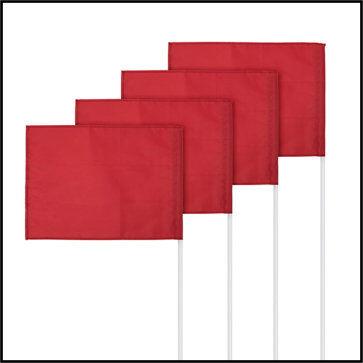 Slim Line Corner Flag Set