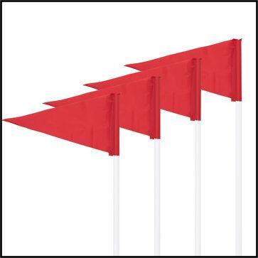 Premium Indoor/Outdoor Corner Flag Set