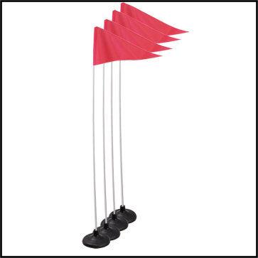 Premium Indoor/Outdoor Corner Flags