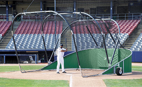 Green Big Bomber Elite Batting Cage