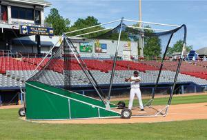 Green Big Bomber Pro Batting Cage