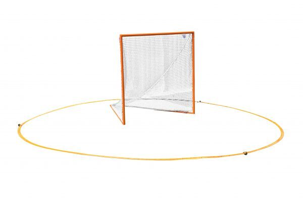 Lacrosse Crease Around Lacrosse Goal