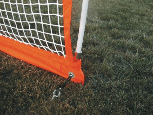 Bownet Lacrosse Net Ground Stake Connection