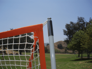 Bownet Lacrosse Net to Pole Connection