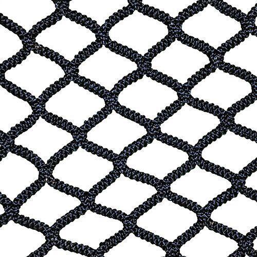 NETX1 Black 7mm Seamless One-Piece Lacrosse Net