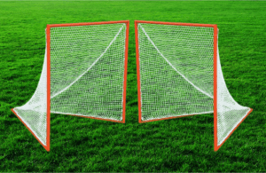 Pair of Official Field Lacrosse Goals